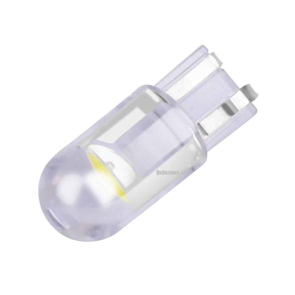 1 pieza 2020 nuevo T10 W5W W5W 168 501 2825 COB LED coche cuña Luz de aparcamiento puerta lateral bombilla instrumento lámpara Auto matrícula Luz