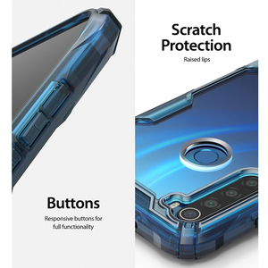 Image 5 - Ringke Fusion X Xiaomi Redmi için not 8 vaka şeffaf sert PC geri yumuşak TPU çerçeve Redmi not 8 kapak