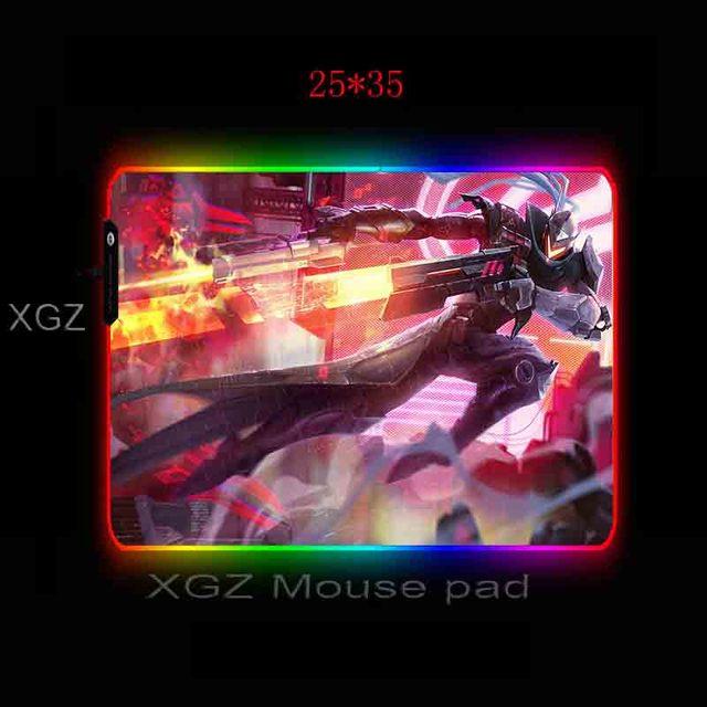 Фото mairuigee большой игровой коврик для мыши rgb черный замок edeg