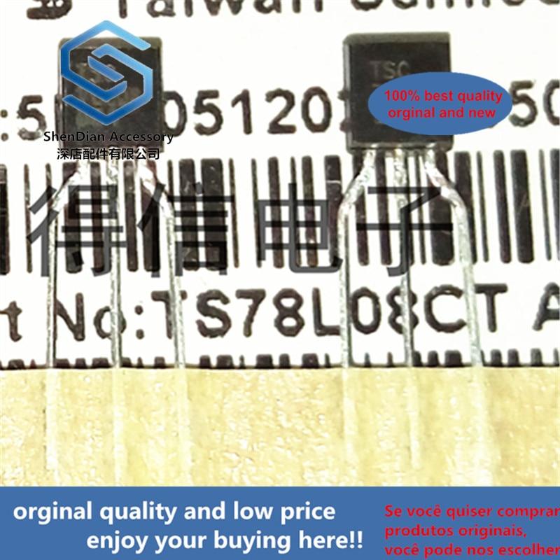 30pcs 100% Orginal New TS78L08 78L08 TO-92  Real Photo