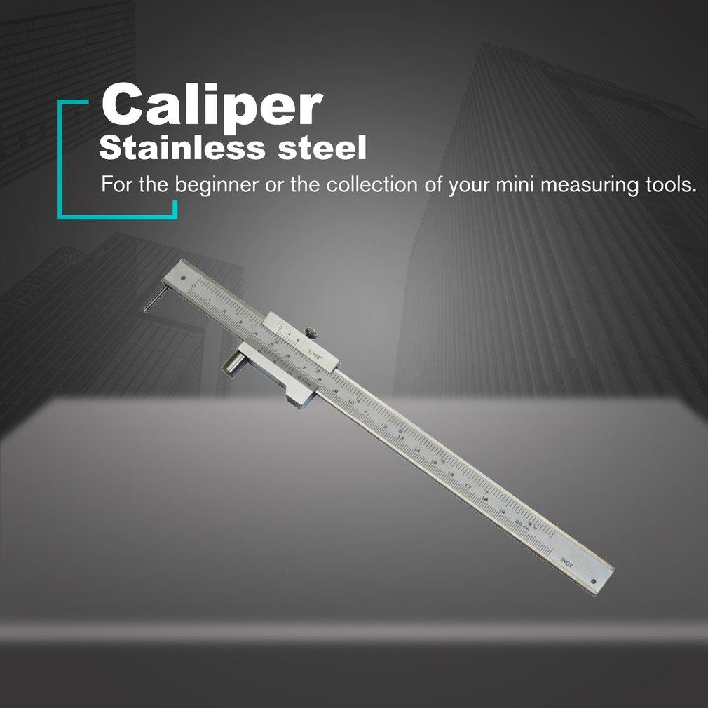 RUZYY Stainless Steel Parallel Marking Gauge Vernier Caliper 200mm w//Carbide Scriber
