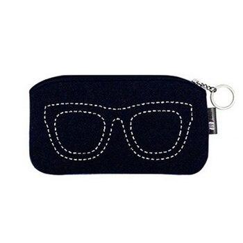 Stilvolle Weichen Make-Up Tasche Staubdicht Sonnenbrille Lesebrille Lagerung Pouch Frauen Männer Reise Comestic Beutel Gläser Fall