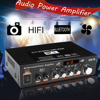 12V/220V 360W G919 Mini Amplificador   4