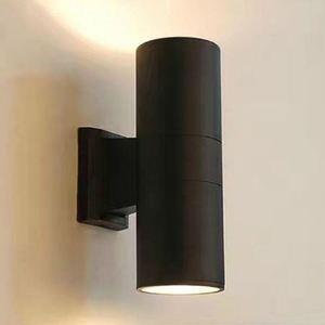 Wall Lamp Black gray Aluminum