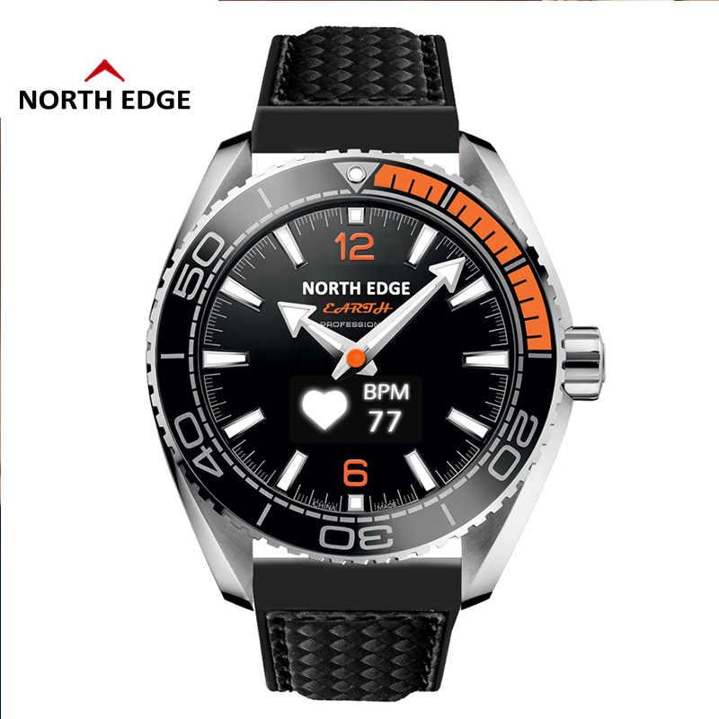 Северная режущая кромка часы Мужские кварцевые часы стилус для сенсорного экрана корпус из нержавеющей стали наручные часы reloj hombre водонепроницаемые мужские часы