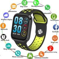New M98 Smart Bracelet Heart Rate Blood Pressure Blood Oxygen Smart Wristband IP67 Waterproof Bluetooth Music Sport Smart Watch