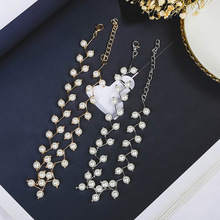 2020 new pearl necklace clavicle chain female simple short necklace necklace jewelry collar neckband