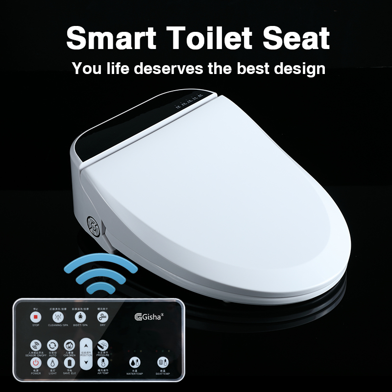 Gisha Smart Bidet Seat Kids Baby Smart Toilet Seat Cover Electronic Bidet Cover Intelligent Bidet Heat Seat Remote Control G102 Toilet Seats Aliexpress