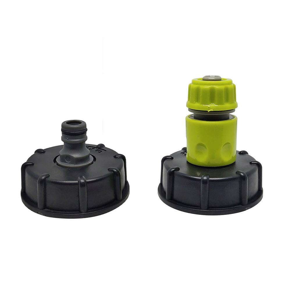 H4d3ab689047a4429ab8949f0c651c0974 Garden Water Ball Valve For IBC Container S60X6 Adapter Plant Water Tap Cap With Male Thread Hose Connection