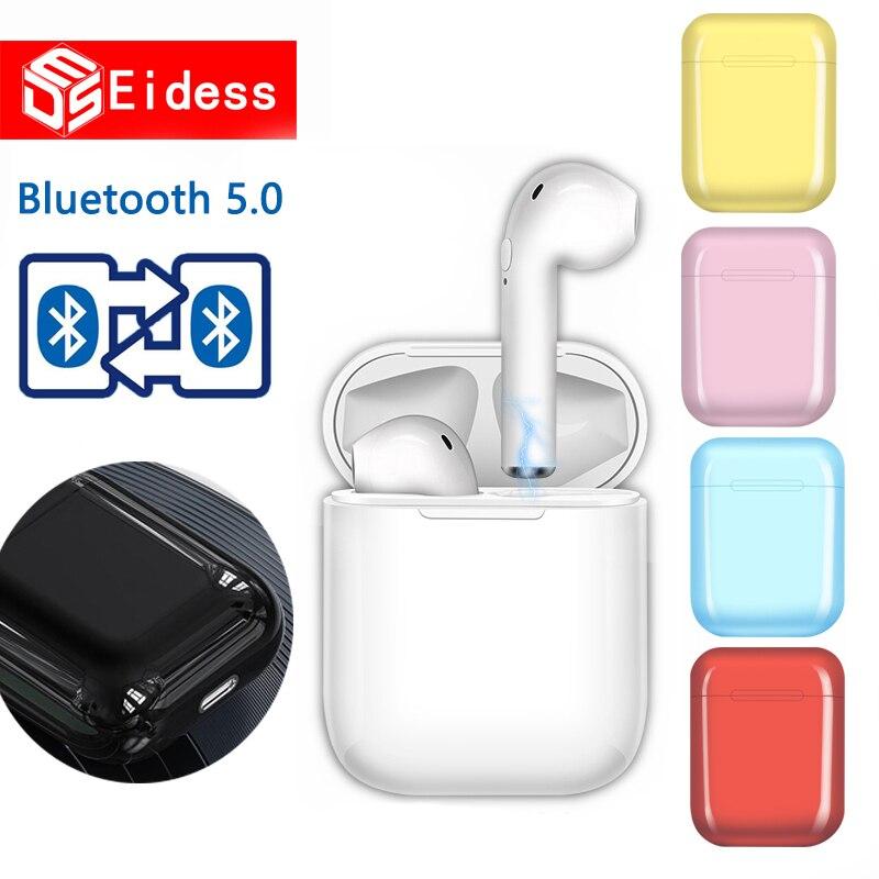 I9S TWS Mini Wireless Bluetooth Earphones Earbuds Sport Handsfree Earphone Headphones Headset Charging Box For Xiaomi IPhone