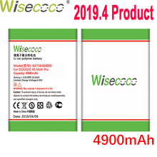 WISECOCO 4900mAh BAT16484000 Battery For DOOGEE X5 MAX Pro Latest Production High Quality Mobile Phone+Tracking Number