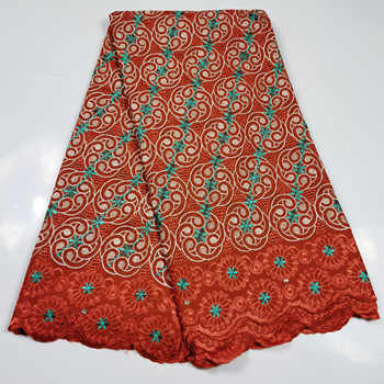 African Lace Fabric Nigerian High Quality Dry Cotton Lace Fabric Swiss Lace Swiss Voile Laces in Switzerland For Women Dress