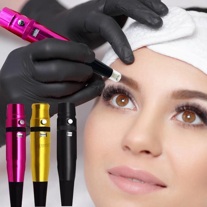 35000R/M Tattoo-machine Pen Dermography Micropigmentation Tattoo Machine for Eyebrow Lip Painting Universal Dermograph Machine