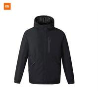 Nowy Xiaomi ULEEMARK inteligentny gorączka dwustronna nosić 3.0 męska kurtka z puchem gęsim inteligentna kontrola temperatury 3 regulacja prędkości w Akcesoria do urządzeń do pielęgnacji osobistej od AGD na
