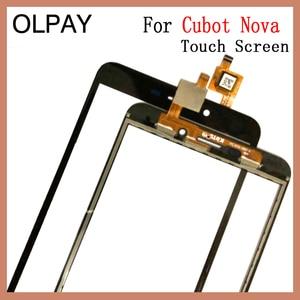 """Image 2 - OLPAY 5,5 """"Handy Touchscreen Für Cubot Nova Touchscreen Glas Digitizer Sensor Reparatur Werkzeuge Kostenloser Klebstoff Und Tücher"""