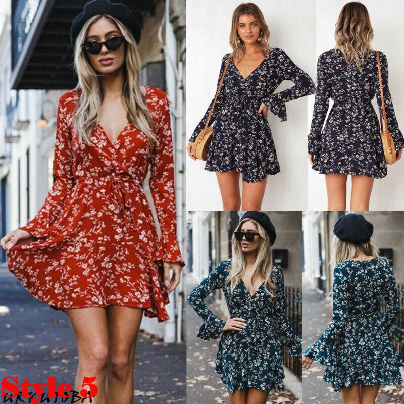 Sexy Strapless Beach Summer Dress Sundresses Vintage Bohemian Mini Dress Robe Femme Boho Floral Women Fashion Dress Hot Vestido