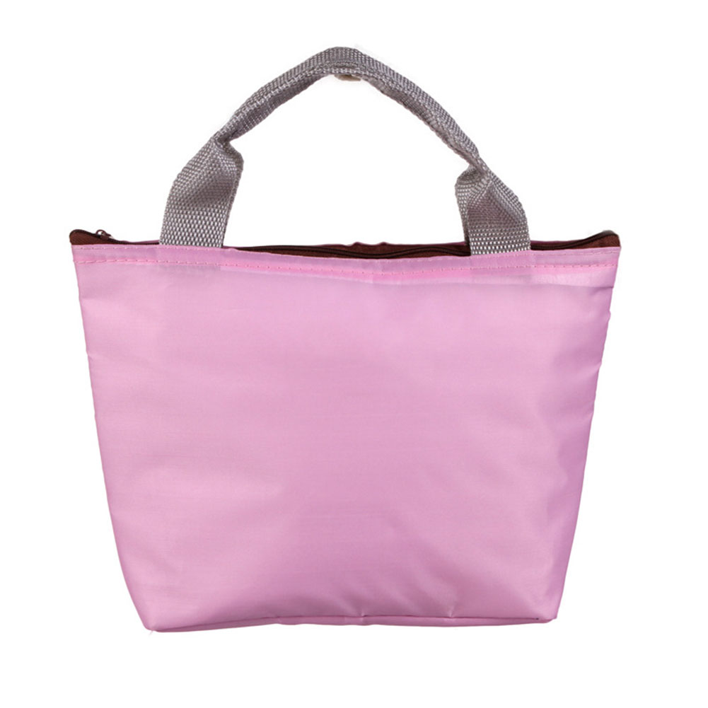 Portable Waterproof Oxford Fabric Lunch Bag Insulated Food Box Tote Picnic Bag