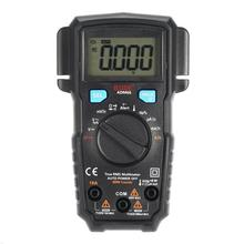 цена на Mini Digital Multimeter ADM Auto Range True RMS DMM DC/AC Voltage Current Temperature Capacitance Diode Ohm NCV Hz Tester