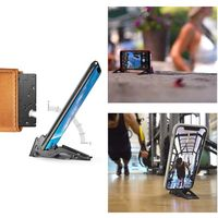 Portable Mini Stabilize Foldable Phone Holder Card Type Rotation Convenient Home Stable Universal Mobile Phone Stand Brackets