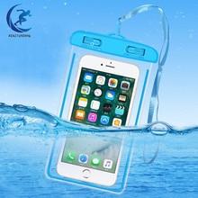 Универсальный Водонепроницаемый Чехол для iPhone XS Max XR X 8 7 6 Plus, Samsung S10, летняя водонепроницаемая сумка, мобильный телефон, чехол