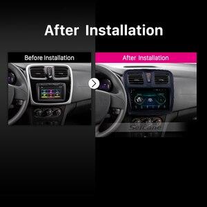"Image 5 - Seicane reproductor Multimedia para coche Renault Sandero, 2Din, 9 "", Android 9,1, GPS para coche, reproductor Multimedia para 2012, 2013, 2014, 2015, 2016, 2017"