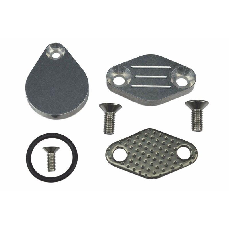 EGR Block Off Plate Kit FOR Chevrolet GMC LS LT Truck LSX 4.8L 5.3L 6.0L V8
