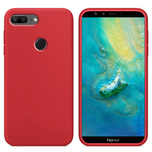 Luxury Liquid Silicone Case For Huawei Honor 9 lite LLD-L31 Cell Phone Soft Back Cover