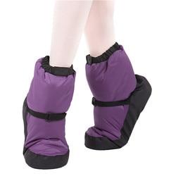 Inverno ballet nacional sapatos de dança adultos dança moderna algodão warm-up exercícios mais quentes botas de bailarina