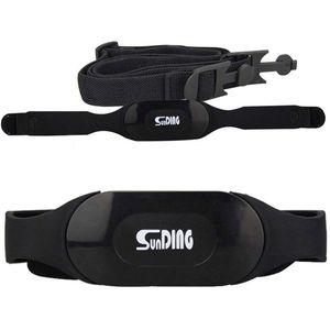 SunDING Peito Monitor de Freqüência Cardíaca Cinta Bluetooth 4.0 Sem Fio Ajustável Esporte Heart Rate Monitor Chest Strap Belt Banda Ao Ar Livre