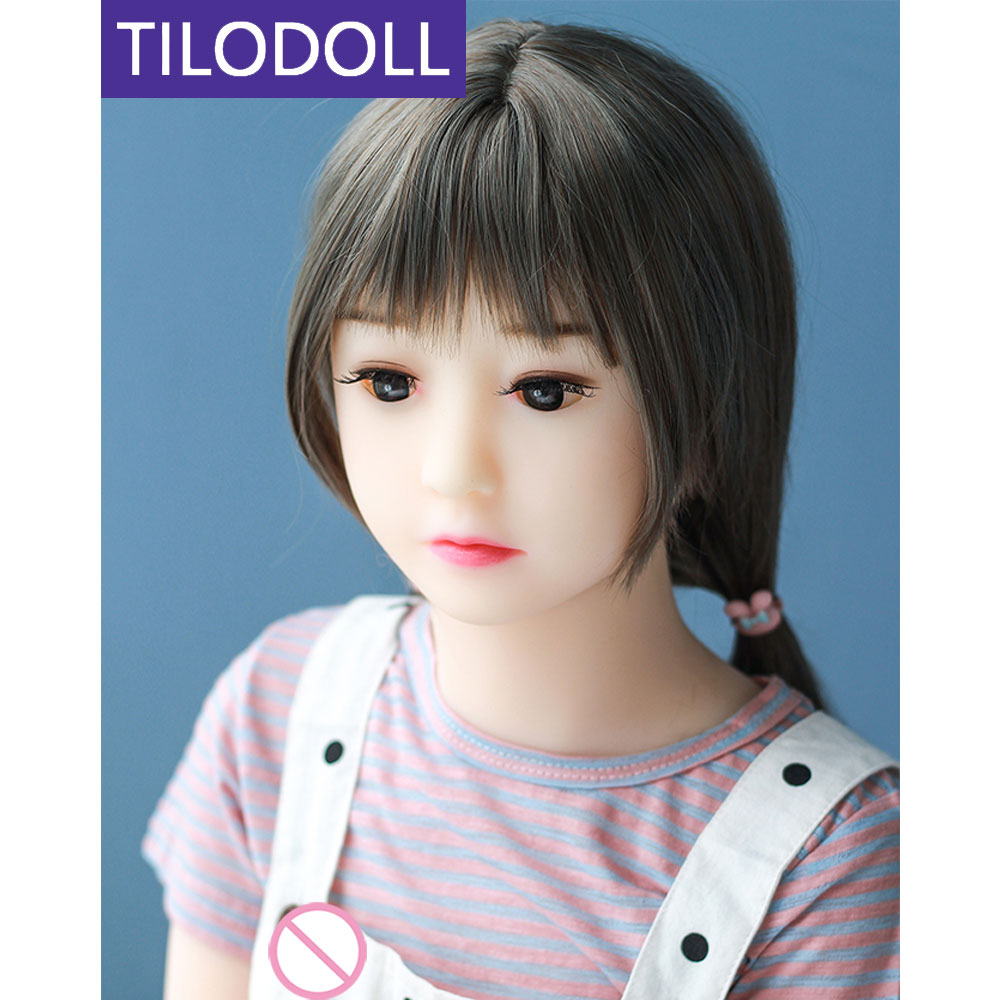 TILODOLL Silicone <font><b>sex</b></font> <font><b>doll</b></font> <font><b>100cm</b></font> lifelike <font><b>Mini</b></font> <font><b>sex</b></font> <font><b>dolls</b></font> for men TPE vagina anal oral products for adult image