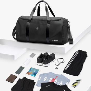 Fitness Travel yoga bag Short Distance Mountaineering Luggage Bag Diagonal Large Capacity Clothes Dry And