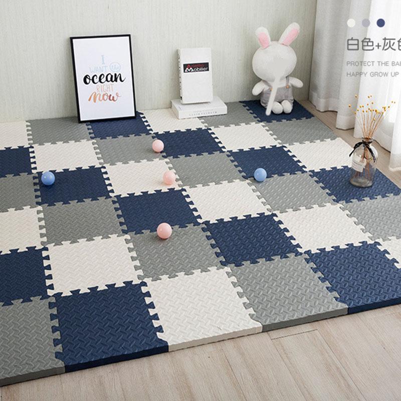 Baby Puzzle Mat Play Mat Kids Interlocking Exercise Tiles Rugs Floor Tiles Toys Carpet Soft Carpet Climbing Pad EVA Foam