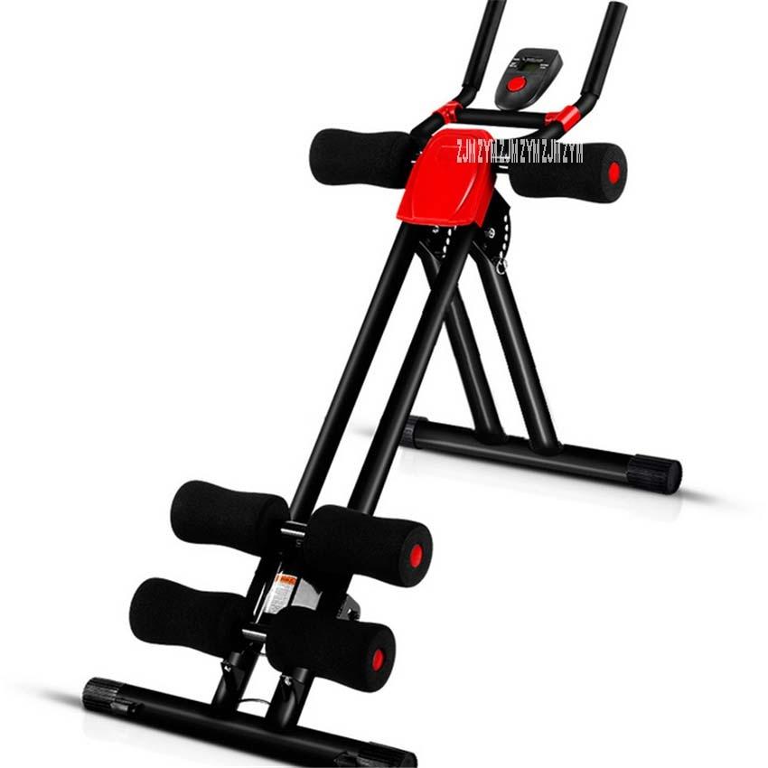 TC-SFJ Vertical Abdomen Machine Handrail Ab Roller Coaster Indoor Abdomenizer Machine Waist Abdominal Exercise Lazy Fitness