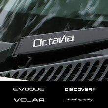Autocollants d'essuie-glace Auto pour Skoda Octavia 2 A5 A7 Fabia 3 Scala rapide Kodiaq superbe 3 karoq Kamiq Citigo Roomster