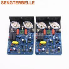 QUAD405 HiFi Stereo çift kanallı güç amplifikatörü kurulu MJ15024 ses amplifikatörü bitmiş ve kiti