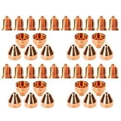 20 piezas 220941 puntas de Plasma 20 piezas 220817 puntas de Plasma aptas para Hypertherm Powermax 65/85/105