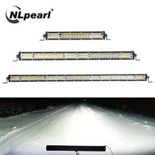 Nlpearl spotlight led barra de luz offroad 10