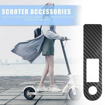 Black Scooter Central Controller Protective Film Carbon M365 Fiber PVC Pro Accessories Electric Scooter Sticker For Xiaomi I7U5 image