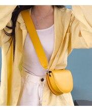 где купить Casual Semicircle Shoulder Bag For Women Mini Candy Color Pu Crossbody Bags Fashion Messenger Bag Purses Ladies Handbags Purses по лучшей цене