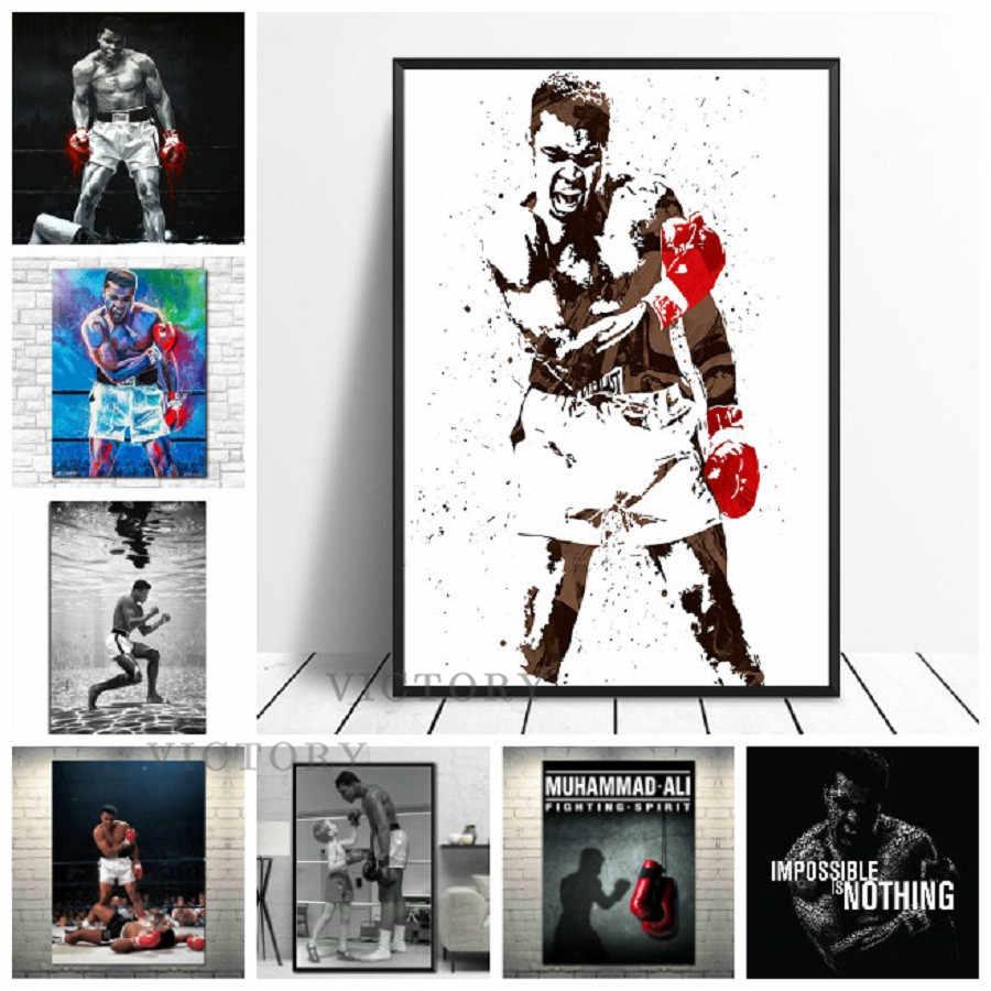 Canvas Art,Prints-Posters-Sports-Art on Canvas.30x40 Muhammad Ali