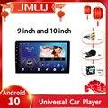 JMCQ Android 9,0 универсальный автомобильный радиоприемник мультимедийный видеоплеер 2din 4G плеер DSP GPS навигатор 9/10.1