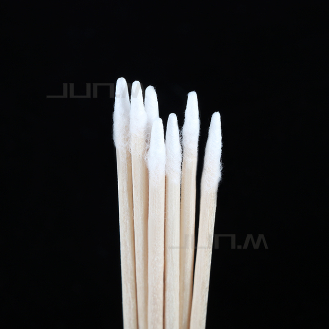 1000Pcs Kapok Sign Cosmetics Permanent Makeup Tattoo Microblading Ear Jewelry Cleaning Stick Bud Tip Kapok Head Cotton Swab 3