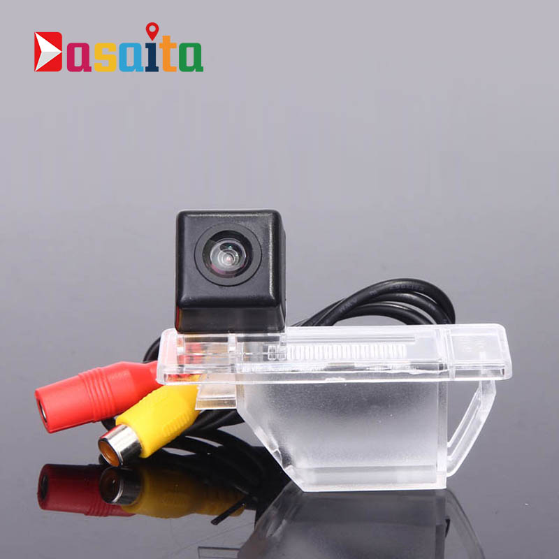 CCD Car Rear View Camera for Nissan X-Trail Sunshine Citroen C4 C5 Sega Peugeot 307 408 Reverse Backup Review Reversing Monitor image