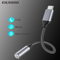 cable samsung galaxy CBAOOO USB Type-C to 3.5mm Headphone Jack Converter Headphones Audio Adapter Cable for Samsung galaxy Note 9 S9 (1)