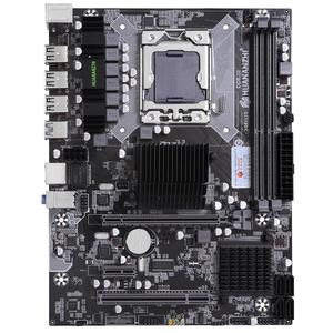 Image 2 - HUANANZHI X58 מעבד LGA1366 האם עם Xeon מעבד X5650 וקריר RAM 8G(2*4G) REG ECC מחשב חומרת DIY