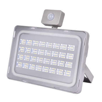 100W 220V LED Floodlight PIR Motion Sensor Led Flood Light Warm White 3000K Outdoor Light Waterproof IP65 Spotlight Lamps - Category 🛒 Lights & Lighting