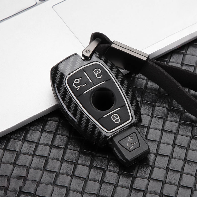 Zinc alloy+Silicone Car Key Cover Case Shell For Mercedes Benz BGA AMG W203 W210 W211 W124 W202 W204 W205 W212 W176 Accessories image
