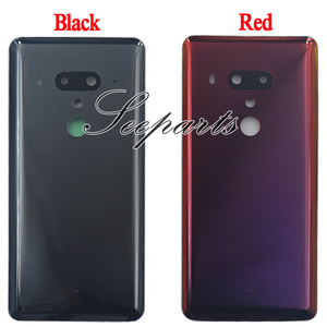 Image 2 - New Housing U12 Plus Battery Back Cover For HTC U12 Plus Battery Door Back Case With Camera Lens For HTC U12+ Battery Cover