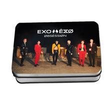 Kpop EXO Obsession Polaroid Lomo Photo Card Kai Suho HD Photocard Baekhyun Sehun Collective Cards 40pcs/set