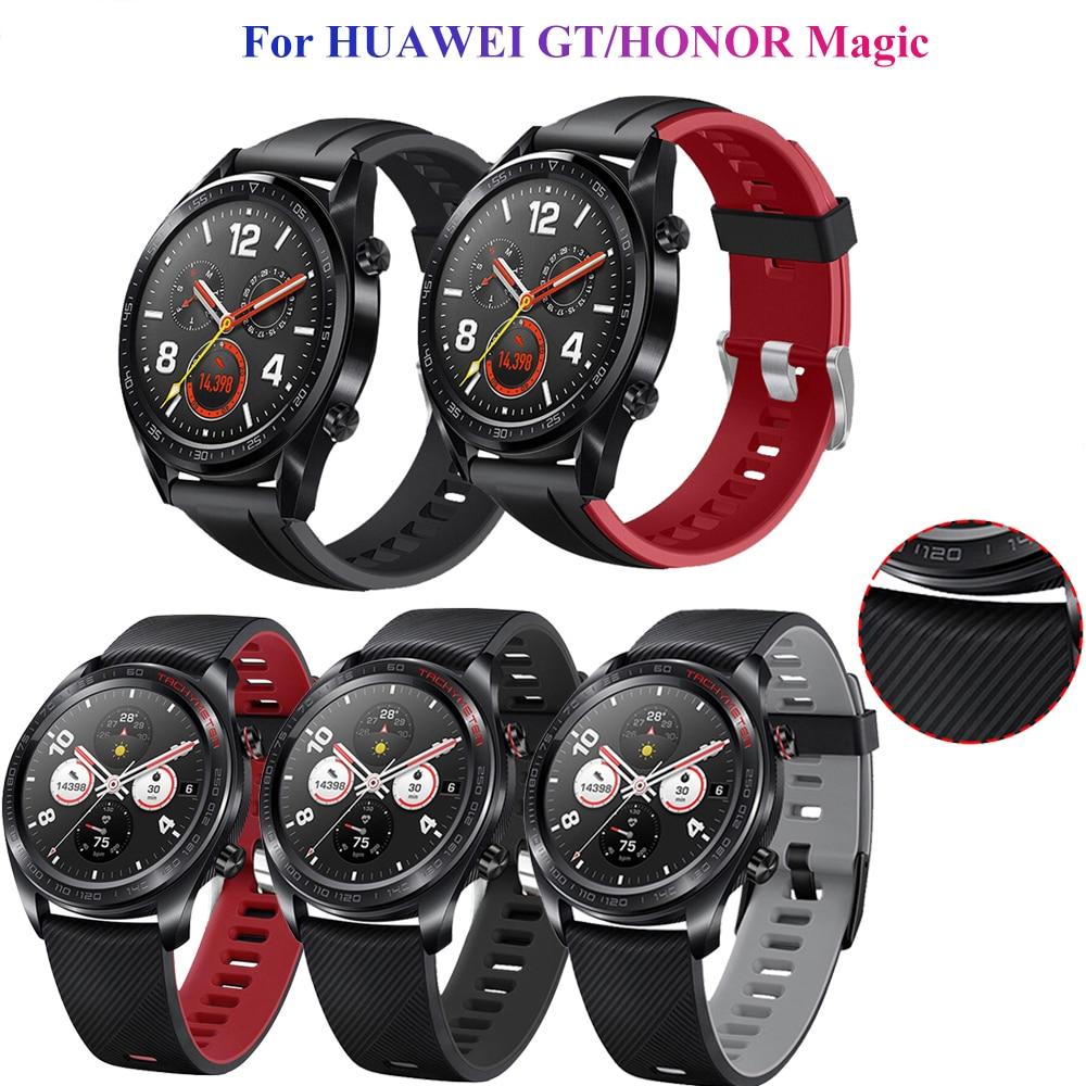 Купить ремешок силиконовый для huawei watch gt/gt 2 46 мм браслет смарт